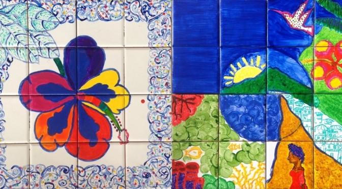 Azulejos de Portugal (Lycée Nord Caraïbe)