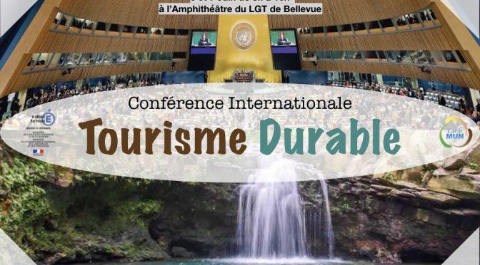 Conférence Internationale Tourisme durable