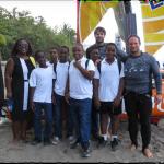 Le collège du Carbet participe à la 3ème édition du Martinique Cata Raid