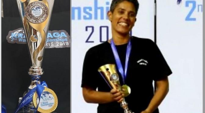 Rencontre avec notre collègue Amélie DESTIN, « Championne du monde de Krav-Maga catégorie +65kg »