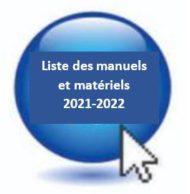 Liste des manuels et matériels scolaires 2021-2022